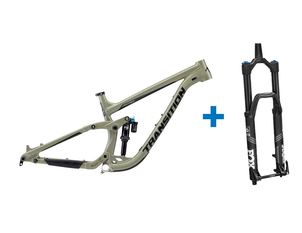 2019 Transition Patrol Alloy and Fox 36 GRIP 2 Performance Elite Fork  Package